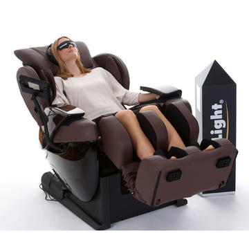 Angebot 2: brainLight relaxTower mit Shiatsu-Massagesessel 3D FLOAT PLUS